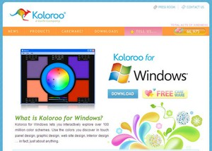 Koloroo - the colour scheme finder