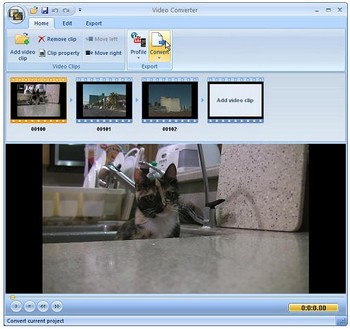 freevideoconverter small Extensoft Free Video Converter   flexible, functional and competent