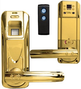 remotedoorlock4 small Fingerprint Door Lock with Remote   open the front door from your lazy place