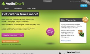 audiodraft small1 AudioDraft   crowdsource your next music need