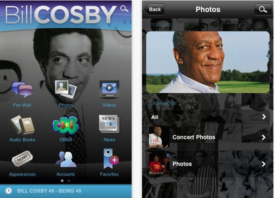 Cosby Bill Cosby gets his own mobile app
