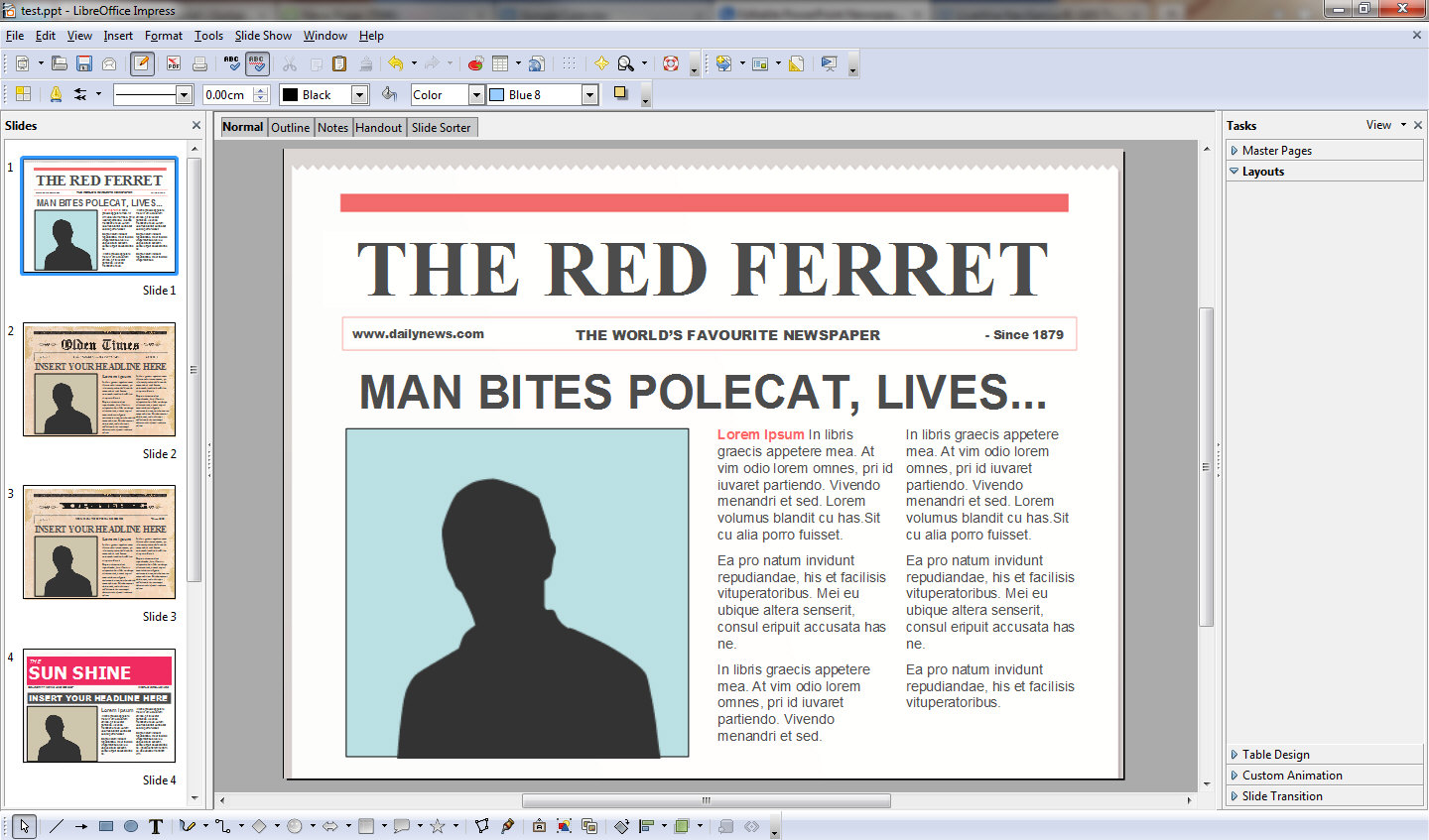 ... Powerpoint Newspaper Templates turns you into an instant media mogul