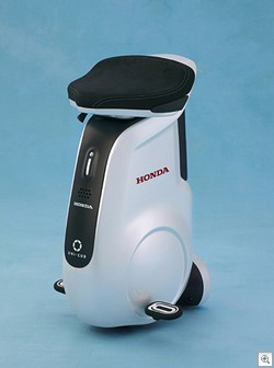 hondaunicub thumb Honda UNI CUB Personal Mobility Device gives us all another reason to stay seated