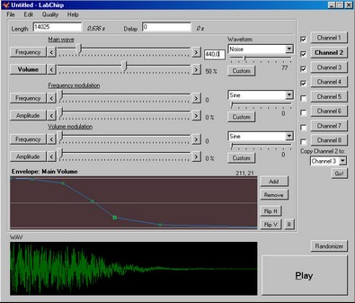 labchirp small LabChirp lets you create cool digital sound effects from your armchair [Freeware]