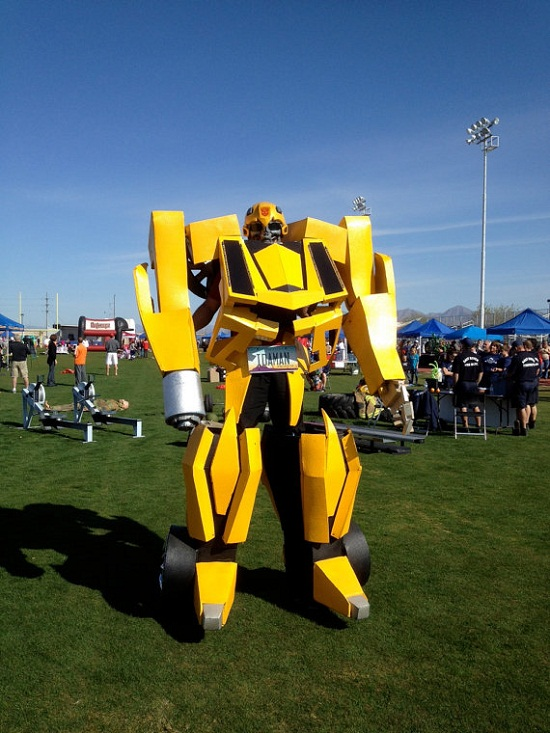 BumbleBee Costume Bumblebee Costume stands above the rest