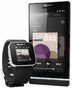 sonyliveviewtouchgen2b Sony SmartWatch   merging watch and cell phone into one