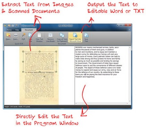 FreeOCRtoWord – converts images to Word editable text with impressive results [Freeware]