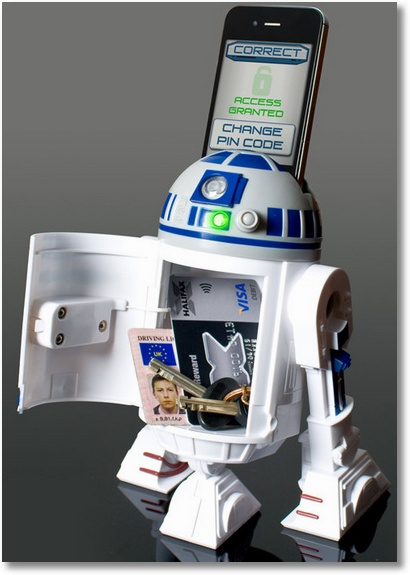 starwarsinteractivemoneybank 10 Cool Last Minute Gifts Under $50 For The Geek In Your Life