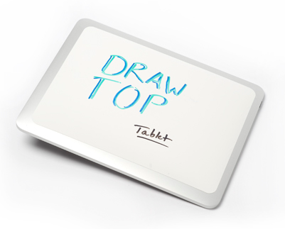 drawtopfortablets DrawTop For Tablets   turn your tablet computer into a whiteboard