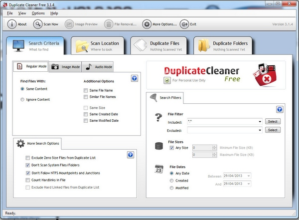Duplicate Cleaner – clear out those pesky duplicate files and photos and free up vital disk space [Freeware]
