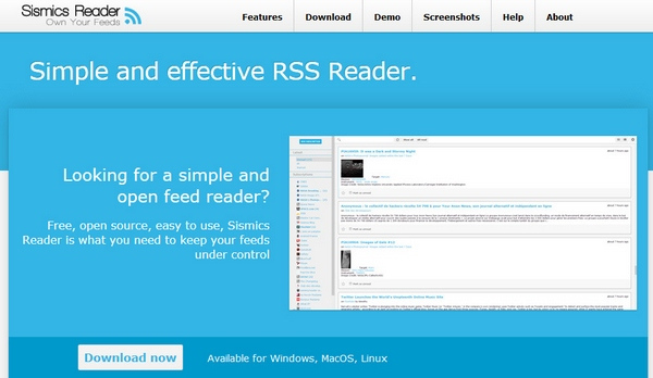 sismics Google Reader Replacement   5 alternatives you should seriously investigate now, before its too late [Freeware]