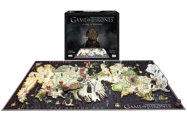 Game of Thrones 4D Puzzle Game of Thrones 4D Puzzle   The one who completes this puzzle deserves to sit on the Iron Throne