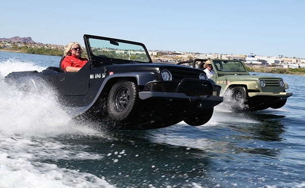 Panther from Watercar – the fastest amphibious car in the world [Video]