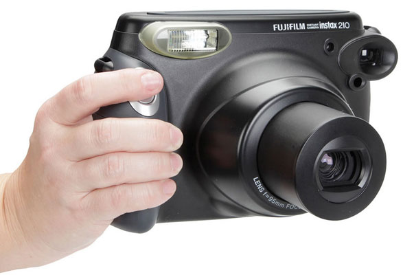 Fujifilm Instax 210 - shoot and print camera brings instant gratification