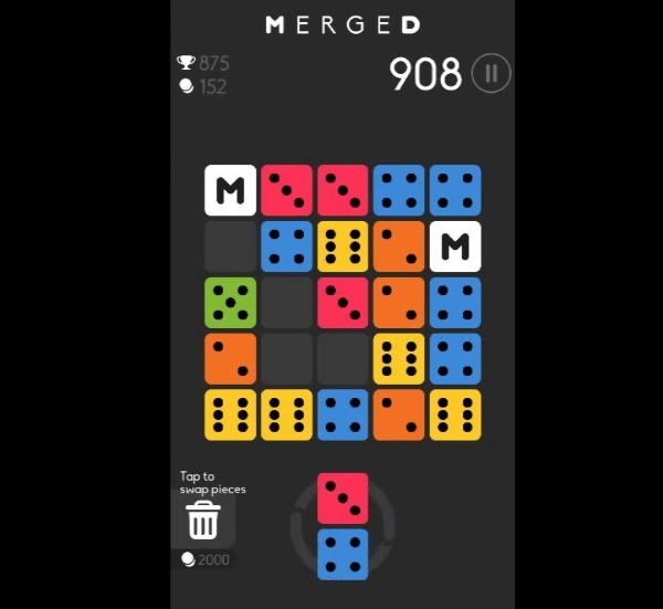 Merged – the no frills match-3 game to waste some time
