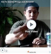 magictrickvideos small Magic Trick Videos   learn 10 cool tricks