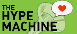 hypemachine The Hype Machine   a meta music blog portal