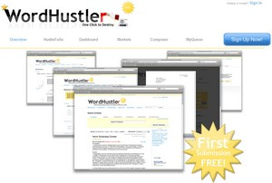 WordHustler - the automated online personal assistant for writers