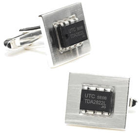 icsilvercufflinks IC Silver Cufflinks   show your geek style with pride