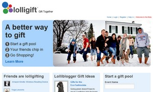 Lolligift - collaborative gift giving done nicely