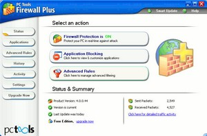 PC Tools Firewall Plus – free firewall software for personal computers