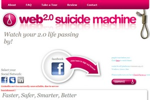 Web 2.0 Suicide Machine - kill off your social networking and live again