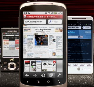 Opera Mini for Android - the mobile phone web browser you've been waiting for...