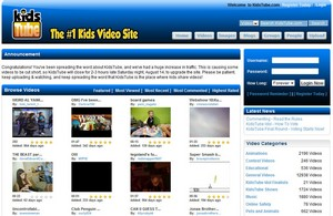 kidstube small KidsTube   family friendly user generated video site for kids