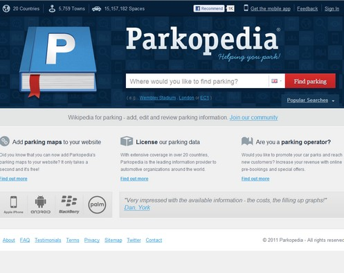 parkopedia small Parkopedia   helping you find parking in an increasingly hostile world