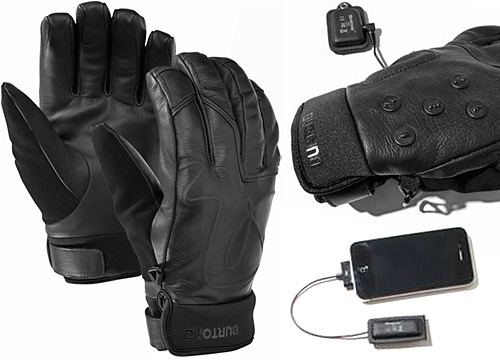 burton mix master2 Burtons Mix Master Gloves wirelessly control your iOS device