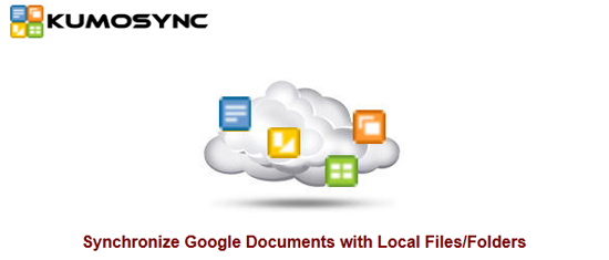 kumo KumoSync keeps your local documents backed up to Google Docs