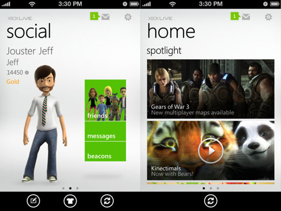my xbox live Access Xbox Live from your iPhone, and control your 360 from your Windows phone
