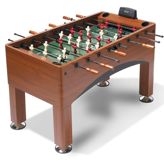 11959 The Handicapping Foosball table lets you give your opponents an advantage
