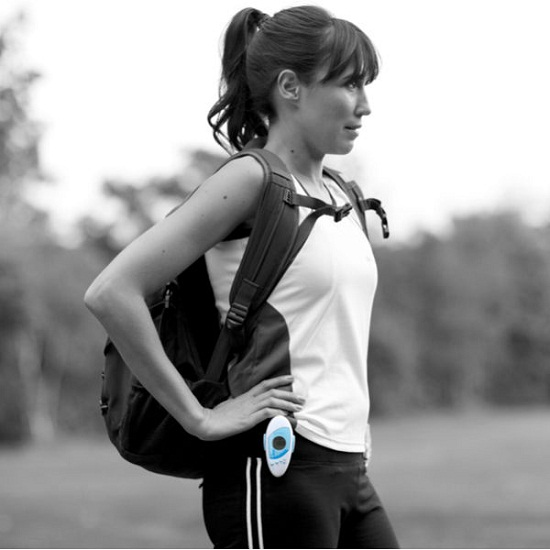ILA Sport Pedometer and Personal Safety Alarm makes sure you're safe and healthy
