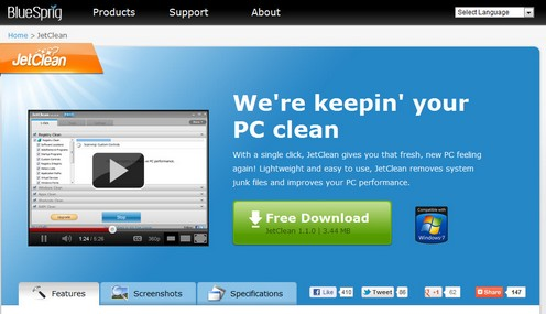 jetclean small JetClean is the best Windows power utility weve ever seen [Freeware]