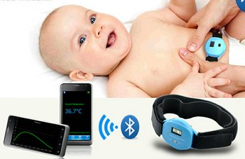 Bluetooth Digital Thermometer connects wireless technology to your body parts