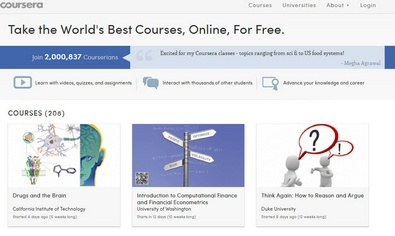 coursera Could MOOCs really change the world?