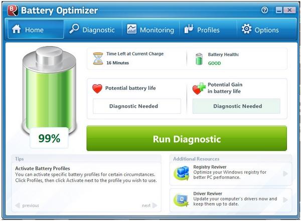 5 Free Programs To Maximize Your Laptop Battery Life [Freeware]