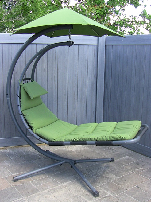 The Zero Gravity Hammock Chair will have you floating ...