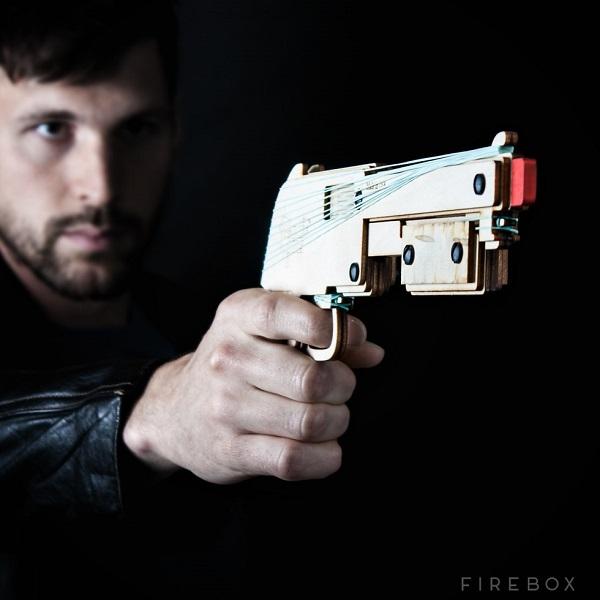 Rubber Bandit Gun will let you unleash the rubber band apocalypse