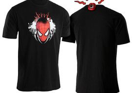 Tingling Electronic Spidey Sense Shirt – You'll know when someone's going to whack you with a rolled-up magazine