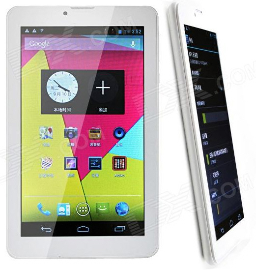 ICOO D70G1 – ultra cheap GSM Android tablet gives you calls and messaging on the move for just $28.30