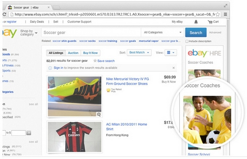 ebayhire2 eBay Hire   auction giant diversifies into providing services...good idea, AAAAAA+++, would use again