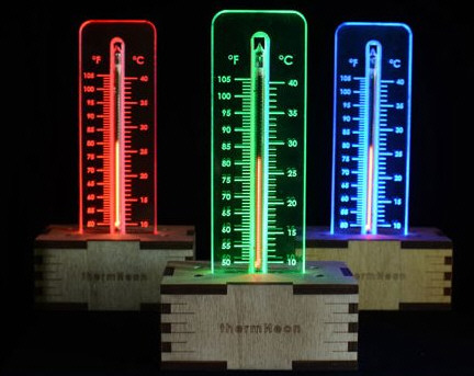 thermneon ThermNeon   the nixie room thermometer