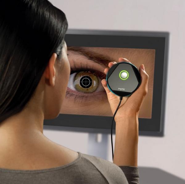 The Eye Scanning Password Authen