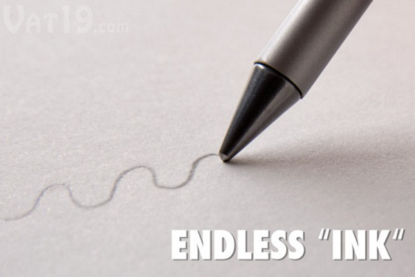 Inkless Metal Beta Pen – never sharpen or run out of ink again