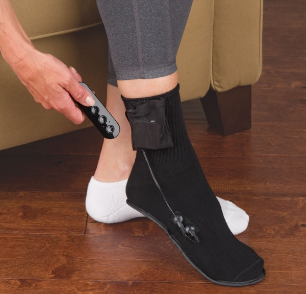 Only Cordless Plantar Fasciitis Pain Relieving Sock – this handy device will cut down foot pain in a snap
